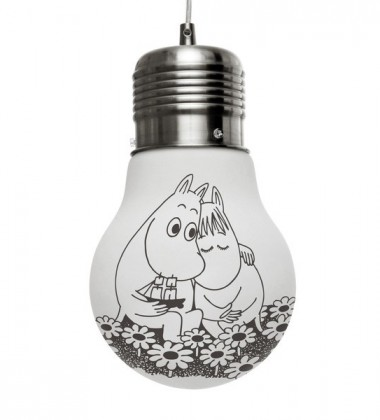 Lampa wisząca Together Forever Moomin Glass Glow