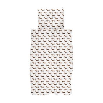 Pościel bawełniana w jamniki 140x200 JAMES