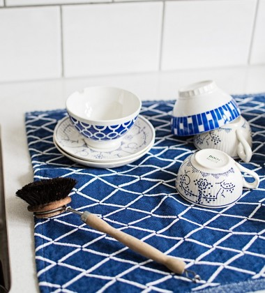 Ścierka kuchenna Eskimo 48x70 Niebieska