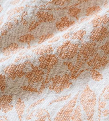 Obrus lub Narzuta NIITTY 150x260 White-Rust