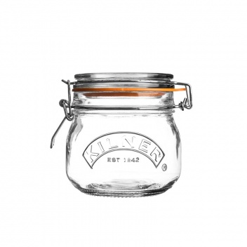 Słoik 0,5L ROUND CLIP TOP JAR by Kilner
