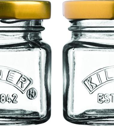 Zestaw mini słoiczków 0,055L MINI JAR Set 4 by Kilner