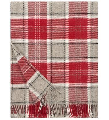 Koc Koto Wool 130x180 Czerwony