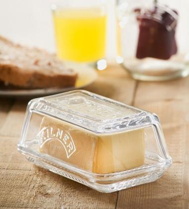 Maselniczka szklana Butter Dish by Kilner