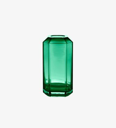 Wazon JEWEL 8x8xH16 Zielony