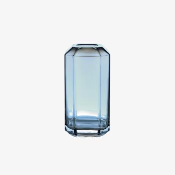 Wazon JEWEL 8x8xH16 Niebieski