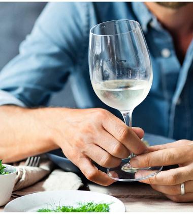 Zestaw 6 kieliszków do białego wina EASY PLUS 390 ml by WMF
