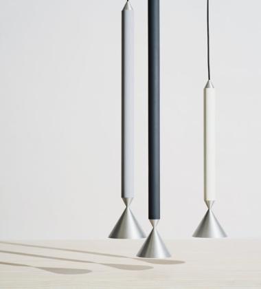 Lampa wisząca stalowa APOLLO 39 cm Winter White