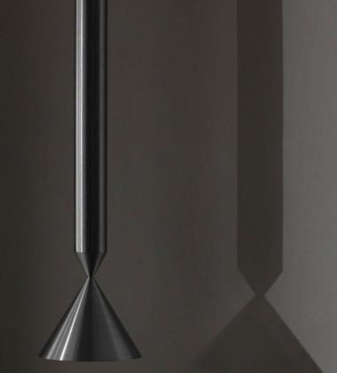 Lampa wisząca stalowa APOLLO 59 cm Black Magic