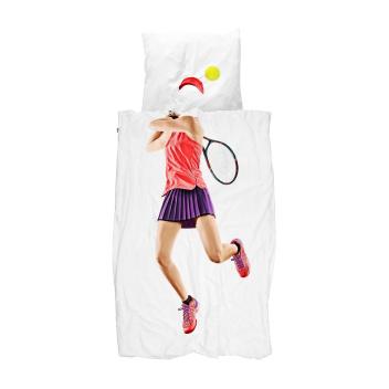 Pościel bawełniana z tenisistką 140x200 TENNIS PRO LIGHT