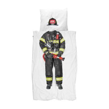 Pościel bawełniana ze strażakiem 140x200 FIREFIGHTER