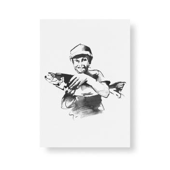 Poster Teemu Jarvi A5 WHAT A CATCH! mini