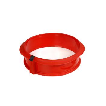 Tortownica silikonowa DUO 23 cm Czerwona by Lekue