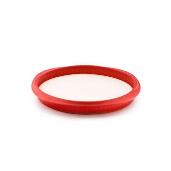 Forma do tarty silikonowa DUO 28 cm Czerwona by Lekue