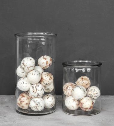 Szklane naczynie wazon H15 CYLINDER VASE by Meraki