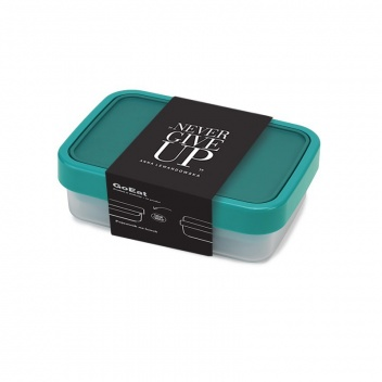 Pojemnik dwuczęściowy Lunch Box GO EAT by HPBA Turkusowy
