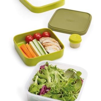 Pojemnik dwuczęściowy Lunch Box GO EAT by Joseph Joseph Zielony