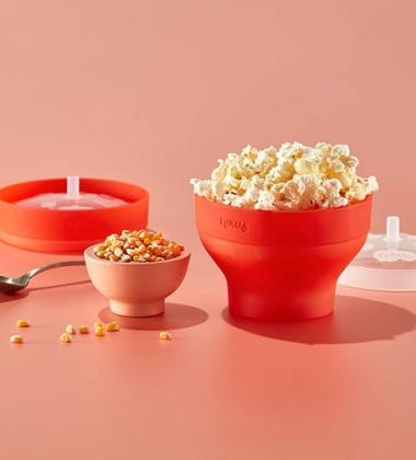 Naczynie do popcornu Microwave Popcorn Popper Maker by Lekue