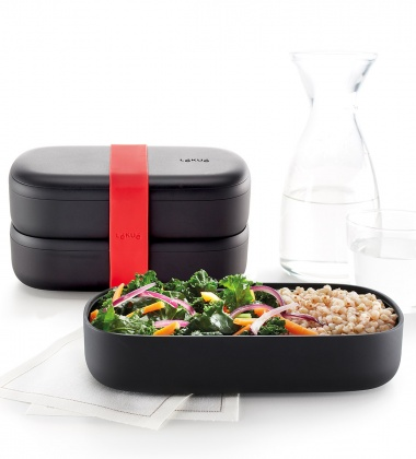 Pojemnik dwuczęściowy Lunch Box TO GO LIMITED by Lekue