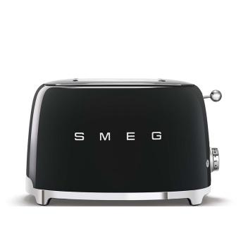 Toster na 2 kromki Retro SMEG 50's Style Czarny