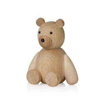 Drewniany Niedźwiadek TEDDY 13,5 cm Oak