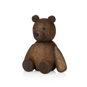 Drewniany Niedźwiadek TEDDY 13,5 cm Smoked Oak
