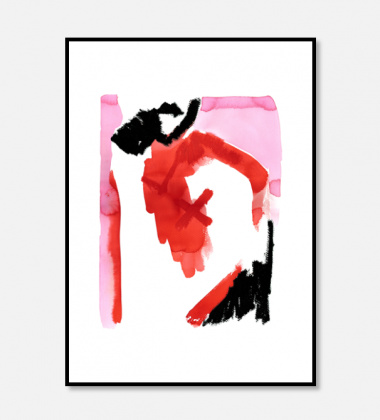 Poster 50x70 DREAM ALONE By Nura Saina Saker