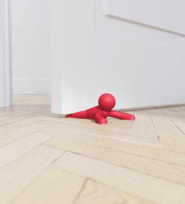 Stoper do drzwi BUDDY Czerwony by Umbra
