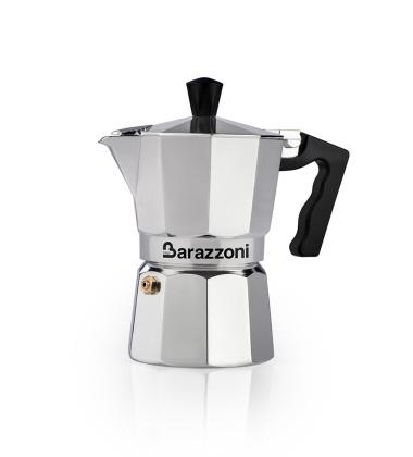 Kawiarka LA CAFFETIERA 6TZ Silver by Barazzoni