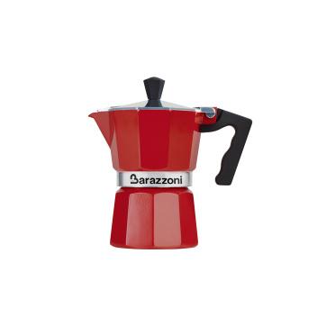 Kawiarka LA CAFFETIERA 3TZ Red by Barazzoni