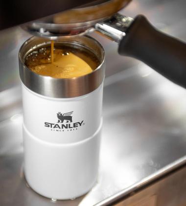 Kubek termiczny stalowy 250 ml TRIGGER Classic White by Stanley