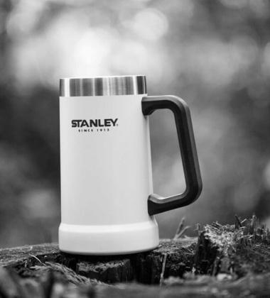 Kufel do piwa termiczny stalowy 700 ml ADVENTURE White by Stanley