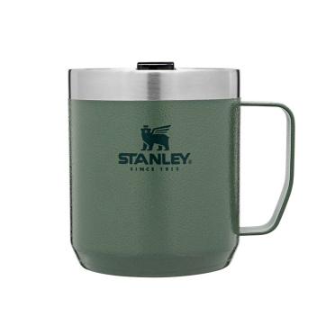 Legendarny kubek termiczny kempingowy z pokrywką 350 ml CLASSIC Green by Stanley