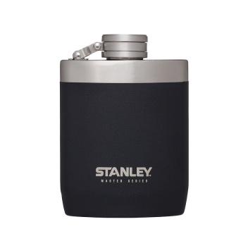 Piersiówka stalowa 230 ml MASTER Black by Stanley