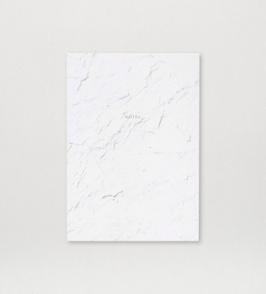 Notes Notebook A5 White Stone