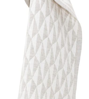 Ścierka kuchenna Triano 48x70 Biało-Lniana
