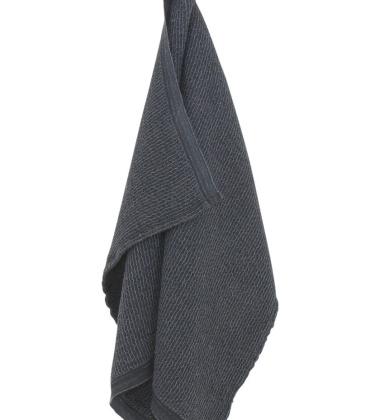 Ręcznik Terva 65x130 Czarno-Grafitowy