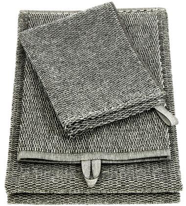Ręcznik Meri 47x63 Biało-Czarny
