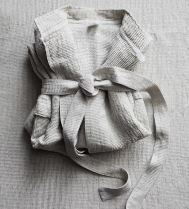 Porannik Terva Linen Medium Biało-Lniany