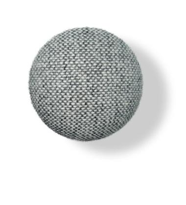 Wieszak ścienny Button-up Hallingdal 10 cm Szary