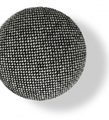 Wieszak ścienny Button-up Hallingdal 10 cm Grafitowy