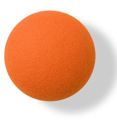 Wieszak ścienny Button-up Divina 10 cm Pomarańczowy