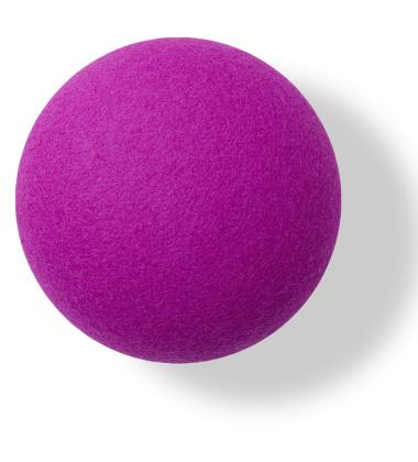Button-up Wool Hook 10 cm Purple Divina