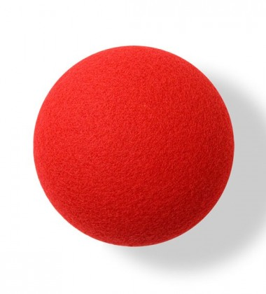 Button-up Wool Hook 10 cm Red Divina