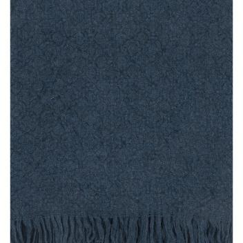 Koc Corona Uni Wool 130x180 Granatowy