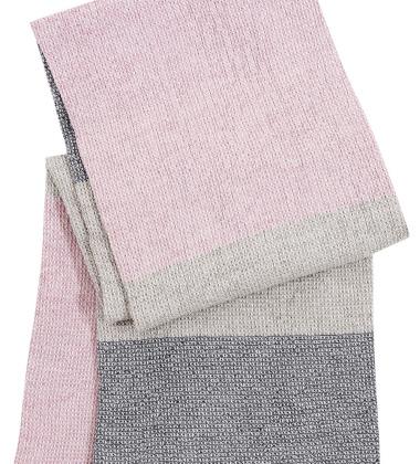Ręcznik Terva 65x130 Biało-Muti-Różowy
