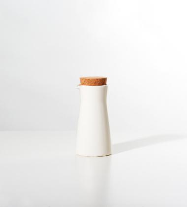 Mlecznik Teema 200 ml Biały z Korkiem