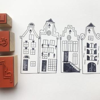 Komplet Stempli Make-a-Scene - Amsterdam