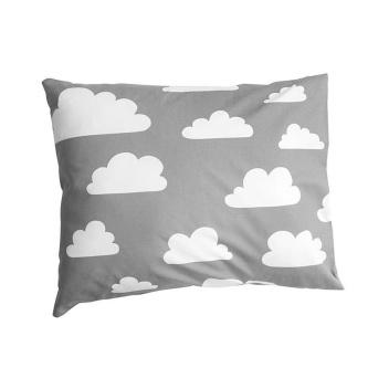 Poszewka na poduszkę Cloud 50x60 cm Chmurki Szara