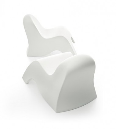 I am dreaming... Biały Fotel-Leżanka